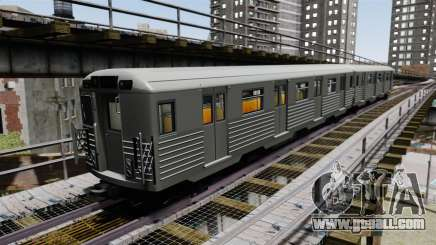 New rail cars for GTA 4