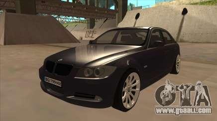 BMW 330 e90 for GTA San Andreas