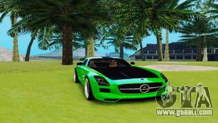 Mercedes SLS AMG 2010 Hamann v2.0 for GTA San Andreas