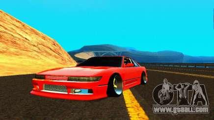Nissan Silvia S13 HellaDrift for GTA San Andreas