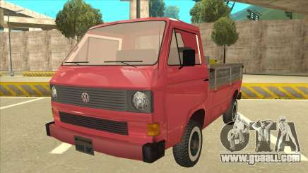 Volkswagen Transporter T3 Pritsche for GTA San Andreas