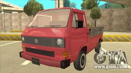 Volkswagen Transporter T3 Pritsche for GTA San Andreas