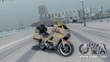 BMW K1200LT for GTA San Andreas