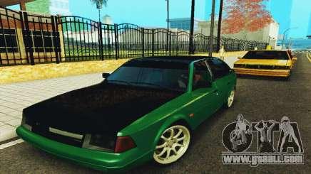 2141 AZLK Black Tuning for GTA San Andreas