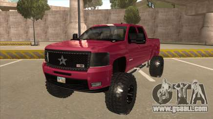 Chevrolet Silverado 2500 Hd RBP 2012 for GTA San Andreas
