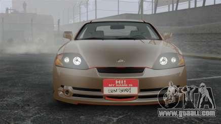 Hyundai Tiburon for GTA 4