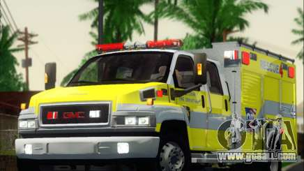 GMC C4500 Topkick BCFD Rescue 4 for GTA San Andreas