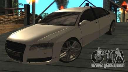 Audi A8L D3 for GTA San Andreas