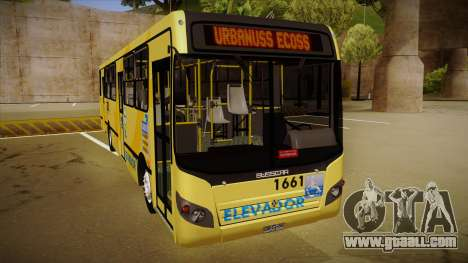 Busscar Urbanuss Ecoss MB OF 1722 M BHBUS for GTA San Andreas left view