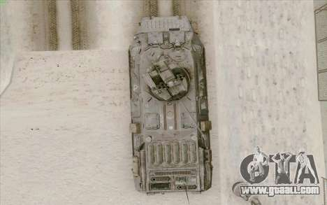 BTR-80 for GTA San Andreas upper view
