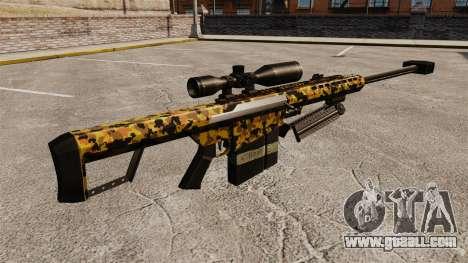 The Barrett M82 sniper rifle v12 for GTA 4 second screenshot