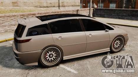 Dinka Honda Odyssey JDM Version for GTA 4 left view
