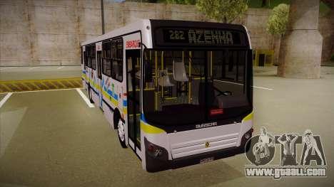 Busscar Urbanuss Ecoss MB OF 1722 M Porto Alegre for GTA San Andreas left view