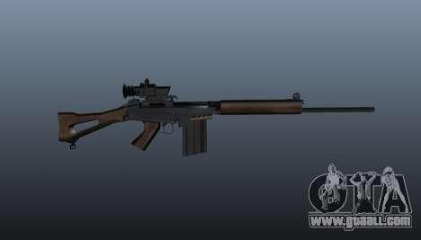 FN FAL sniper rifle for GTA 4 third screenshot