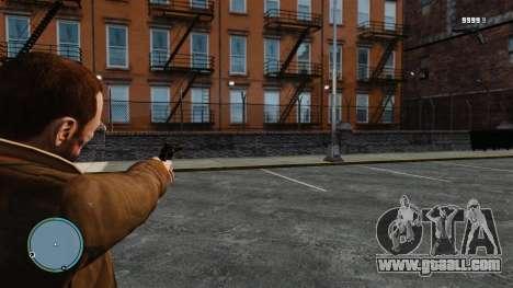Crosshair Counter-strike for GTA 4