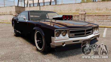 The new version of the Sabre GT for GTA 4