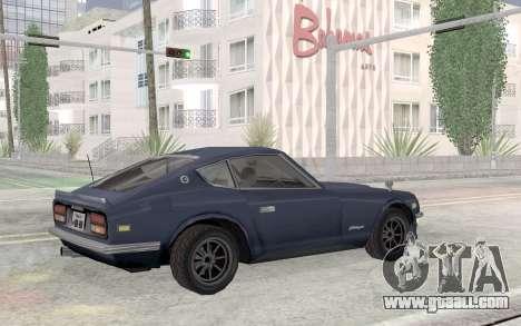 Nissan Fairlady Z AKUMA for GTA San Andreas inner view