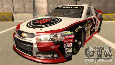 Chevrolet SS NASCAR No. 29 Jimmy Johns for GTA San Andreas