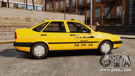 Fiat Tempra SX.A Turkish Taxi for GTA 4 left view