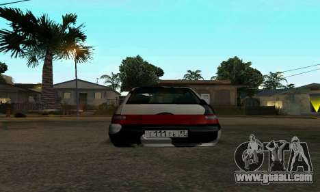 LADA 112 for GTA San Andreas back left view