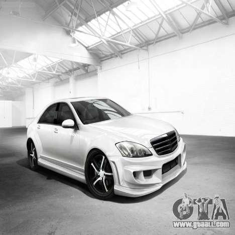Loading screens Mercedes-Benz for GTA 4 seventh screenshot
