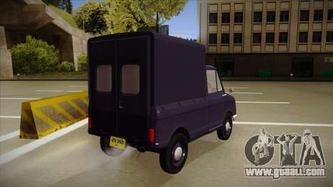 Suzulight Carry 360 for GTA San Andreas inner view