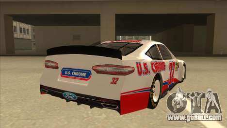 Ford Fusion NASCAR No. 32 U.S. Chrome for GTA San Andreas right view