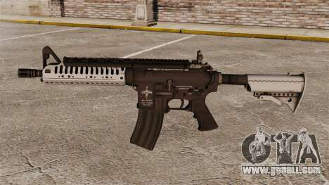Automatic carbine M4 VLTOR v5 for GTA 4 third screenshot