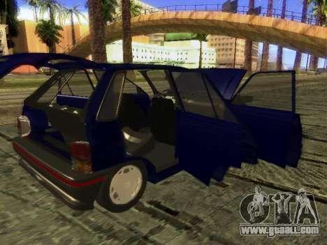 Kia Pride Hatchback for GTA San Andreas upper view