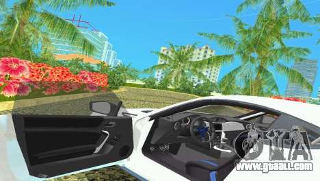 Subaru BRZ Type 4 for GTA Vice City side view