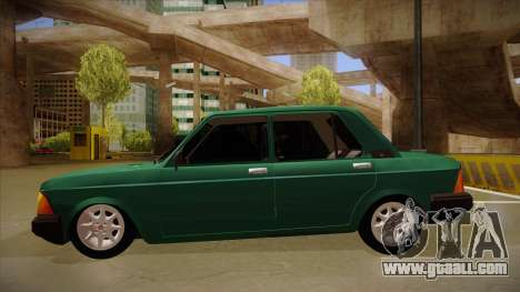 Fiat 128 Super Europa for GTA San Andreas back left view