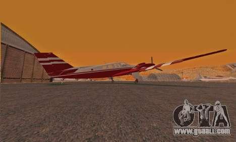 Rustler GTA V for GTA San Andreas back left view