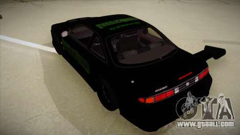 Nissan s14 200sx [WAD]HD for GTA San Andreas back view