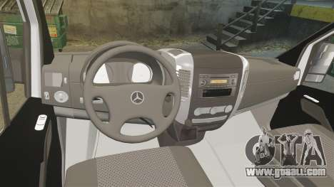 Mercedes-Benz Sprinter Croatian Police [ELS] for GTA 4 back view