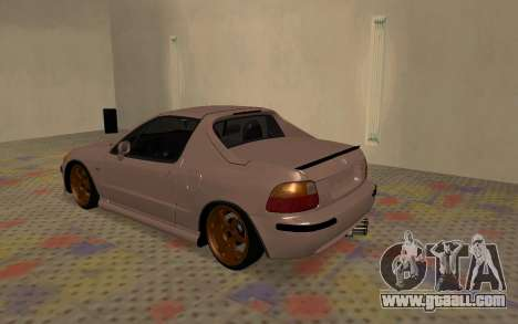 Honda CRX DelSol TMC for GTA San Andreas right view