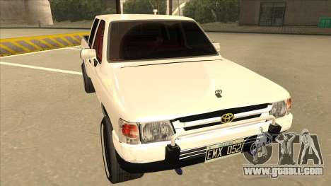 Toyota Hilux 2004 for GTA San Andreas left view
