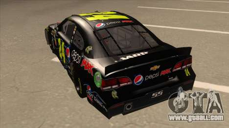 Chevrolet SS NASCAR No. 24 Pepsi Max AARP for GTA San Andreas back view