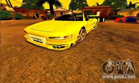 Infernus Cabrio Edition for GTA San Andreas