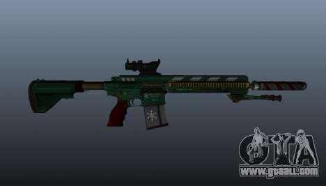 HK417 rifle v3 for GTA 4 third screenshot