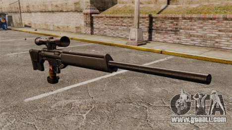 HK PSG10 sniper rifle for GTA 4