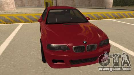 BMW M3 Tuned for GTA San Andreas left view