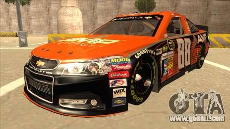 Chevrolet SS NASCAR No. 88 Amp Energy for GTA San Andreas