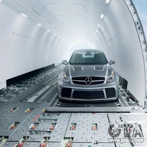 Loading screens Mercedes-Benz for GTA 4 third screenshot