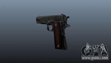 Pistol M1911 v4 for GTA 4 second screenshot