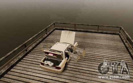 Mitsubishi Galant V2 for GTA 4 back view
