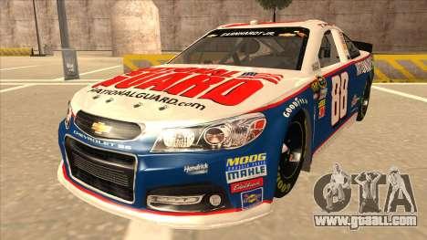Chevrolet SS NASCAR No. 88 National Guard for GTA San Andreas