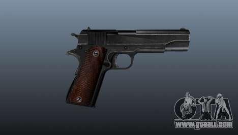 Pistol M1911 v4 for GTA 4 third screenshot
