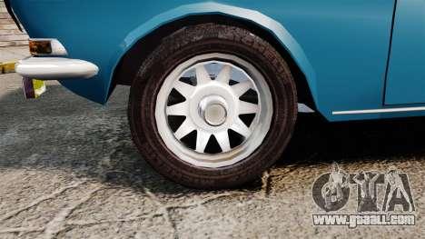 Gaz-2410 Volga v3 for GTA 4 back view