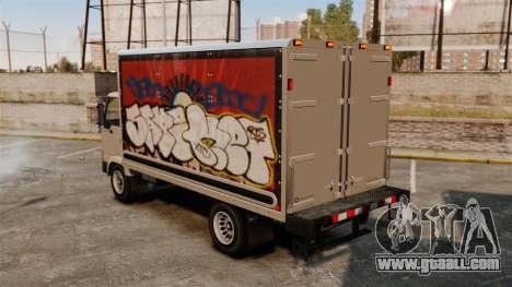 New graffiti for Mule for GTA 4 back left view