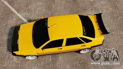Fiat Tempra TR KeremAkca Edit for GTA 4 right view